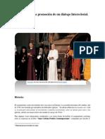 Ecumenism, Un Dialogo Intereclesial.