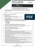 PROVA RACIOCÍNIO ANALÍTICO 2013.pdf
