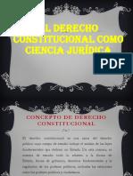 Derecho Constitucional G I