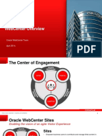 Webcenter overview