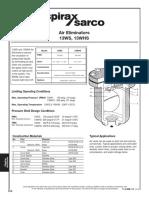 Catálogo - Spirax Sarco - Purgador 13WS - Air_Eliminators_13WS_WHS-Technical_Information