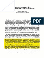 15848002-Pensamiento Español, Abellan
