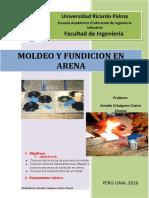 Guia de Laboratorio 1 de Manufactura FUNDICION en ARENA