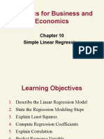Sbe10 10 Simple Regression