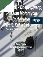 Keihin Carburetors