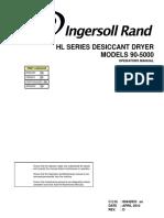 Ingersoll Rand HL300 - Operators Manual
