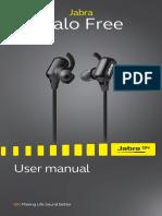 Jabra Halo Free Manuals En