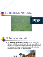 El Terreno Natural.ppt