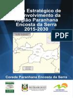 Livro • Corede • Plano Estratégico de Desenvolvimento