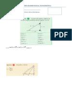 Segundo Examen Parcial de Matemática