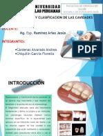 Nomenclatura y Clasificación de Cavidades d.