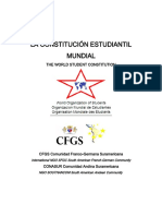 Constitución Estudiantil Mundial - World Student Constitution