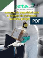 GacetaIMP Edici n Especial Medidas de Seguridad Para El Manejo de Sustancias Qu Micas Peligrosas