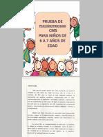 PUEBA PSICOMOTORA
