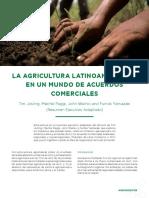 AC57 La Agricultura Latinoamericana en Un Mundo de Acuerdos Comerciales