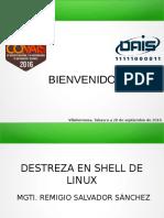 habilidades con Shell en Linux