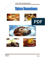 Platos Tipicos Venezolanos