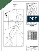 plano de ubicación cimentaciones