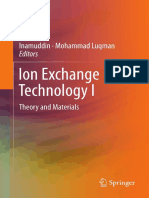 Ionic Exchange Technology I