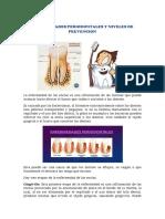 Enfermedades Periodontales y Niveles de Prevencion