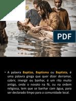 Batismo - NEPE