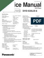 Manual de Servicio de Dvd