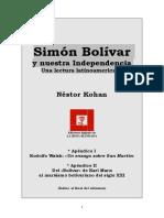 Simón Bolívar y nuestra independencia.pdf
