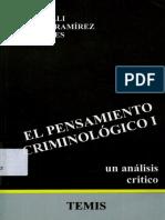 Bergalli, Roberto - Bustos Ramirez, Juan - El Pensamiento Criminologico Vol I - 1983