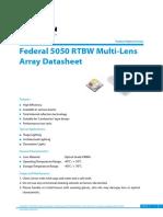 Edison Opto_Federal 5050 RTBW Multi-Lens Aray_Eng_V1
