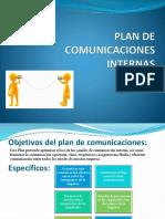 Plan de Comunicaciones Internas