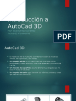 Introducción a AutoCad 3D