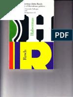 Habermas-Rawls Deb Sob El Lib Pol (CC)