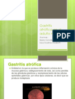 Gastritis Atrófica en El Adulto Mayor