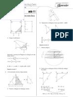 Matemática - Caderno de Resoluções - Apostila Volume 3 - Pré-Universitário - mat2 aula11
