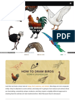 Sketchbook - How to Draw Birds.
