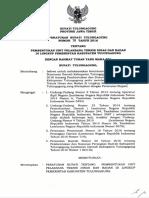 Perbup Nomor 78 Tahun 2016 Tentang Pembentukan Unit Pelaksana Teknis Dinas Dan Badan Di Lingkup Pemerintah Kabupaten Tulungagung