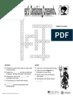 Hurricane Solution Crossword Level1