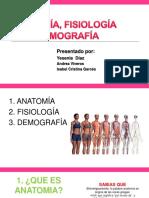 Anatomia Demografia y Fisiologia