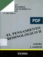 Bergalli, Roberto - Bustos Ramirez, Juan - El Pensamiento Criminologico Vol II - 1983