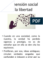 La Dimensión Social de La Libertad