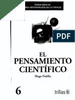 Hugo Padilla_el Pensamiento Cientifico