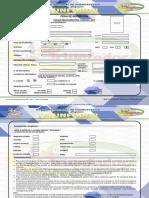 Ficha de Inscripción Pre