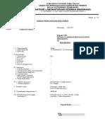 Form Surat Pengantar Specimen Lab Keswan Smg