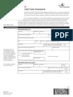 Continuum Application Form E