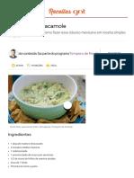 Como Fazer Guacamole - Tempero de Família - Programas - GNT