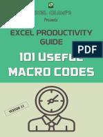 Useful Macro Codes