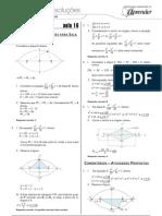 Matemática - Caderno de Resoluções - Apostila Volume 4 - Pré-Universitário - mat1 aula16