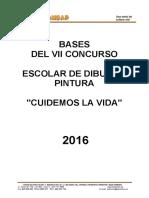 VII Concurso de Dibujo y Pintura 2016 BASES