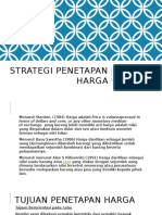 9. Strategi Penetapan Harga