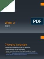 ENG101 Powerpoint Week 3 F2016